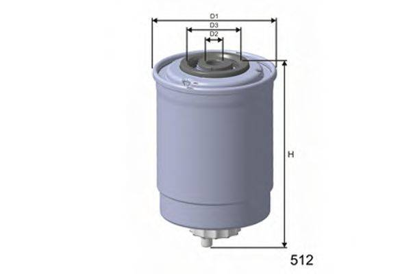 MISFAT M379 Топливный фильтр