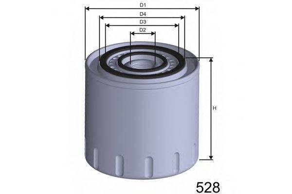 MISFAT Z313 Масляный фильтр