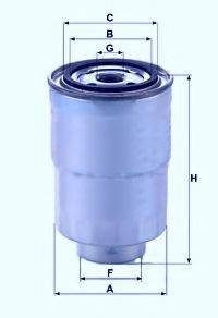 UNICO FILTER FI913916X Топливный фильтр