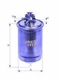 UNICO FILTER FI81671 Топливный фильтр