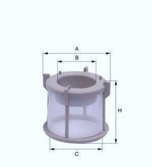UNICO FILTER EFP541Z Топливный фильтр