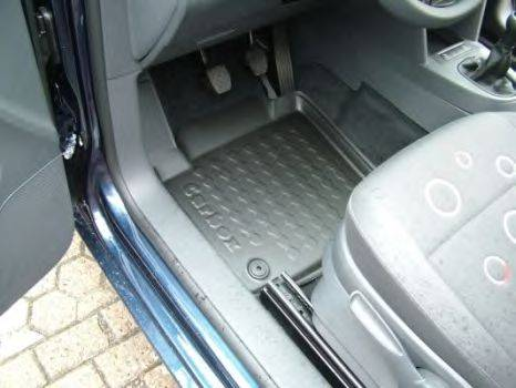 Резиновый коврик с защитными бортами CARBOX 409090000