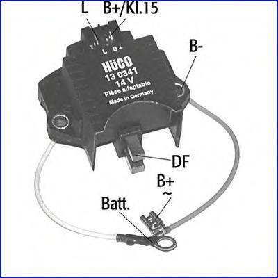 HITACHI 130341 Регулятор генератора