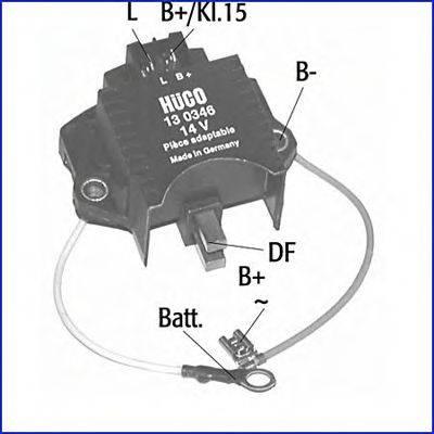 HITACHI 130346 Регулятор генератора