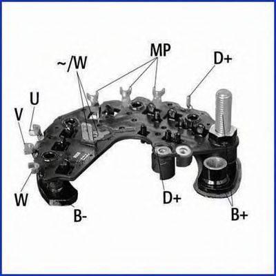 HITACHI 139693 Выпрямитель, генератор