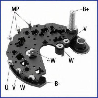 HITACHI 139722 Выпрямитель, генератор