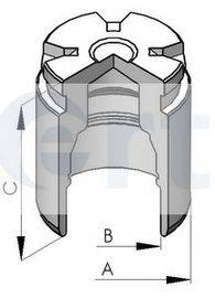 ERT 150578C Поршень, корпус скобы тормоза