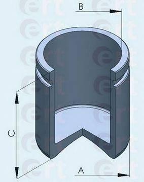 ERT 150516C Поршень, корпус скобы тормоза