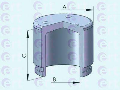 ERT 150949C Поршень, корпус скобы тормоза