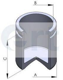 ERT 150558C Поршень, корпус скобы тормоза