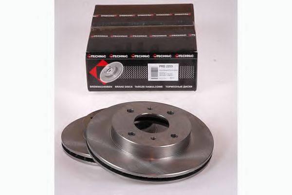 PROTECHNIC PRD2223 Тормозной диск