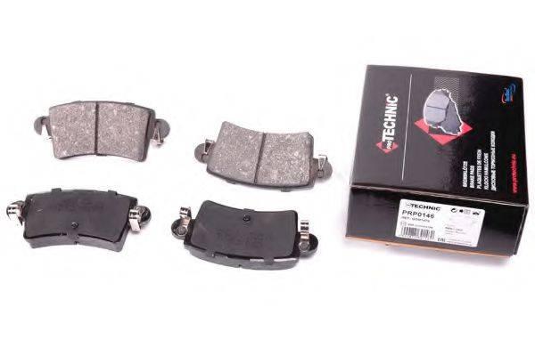 PROTECHNIC PRP0146 Комплект тормозных колодок, дисковый тормоз