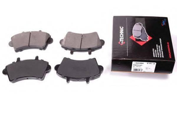 PROTECHNIC PRP0167 Комплект тормозных колодок, дисковый тормоз