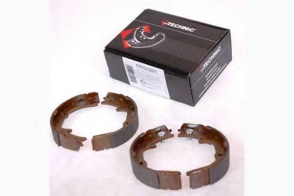 PROTECHNIC PRS0291 Комплект тормозных колодок, стояночная тормозная система