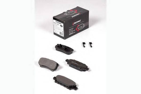 PROTECHNIC PRP1260 Комплект тормозных колодок, дисковый тормоз