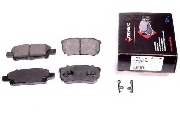 PROTECHNIC PRP12603M Комплект тормозных колодок, дисковый тормоз
