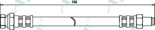 APEC BRAKING HOS3146 Тормозной шланг