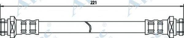 APEC BRAKING HOS3440 Тормозной шланг