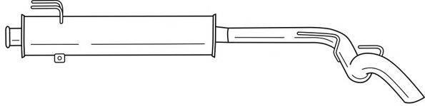 SIGAM 49618 Глушитель выхлопных газов конечный