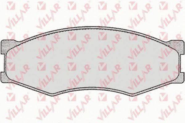 VILLAR 6260264 Комплект тормозных колодок, дисковый тормоз