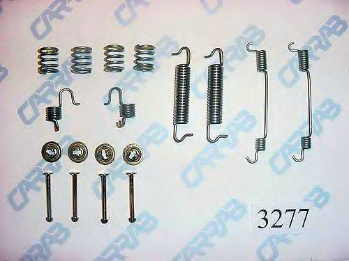 CARRAB BRAKE PARTS 3277 Комплектующие, тормозная колодка