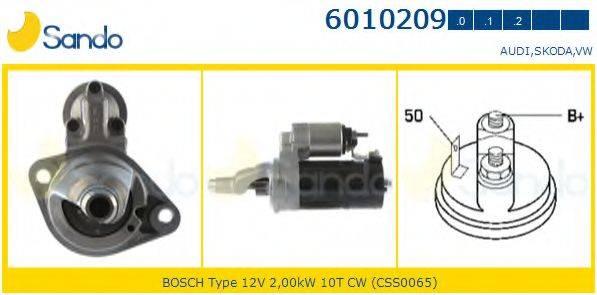SANDO 60102090 Стартер