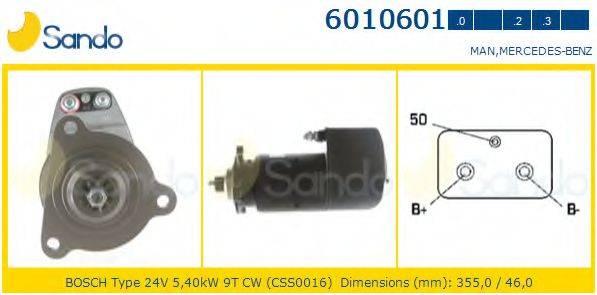 SANDO 60106010 Стартер