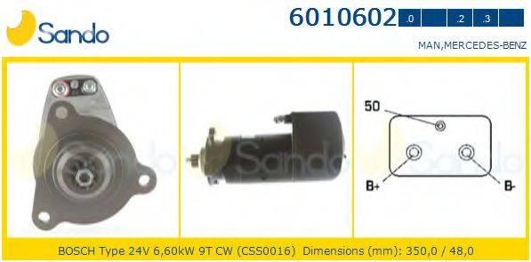 SANDO 60106020 Стартер