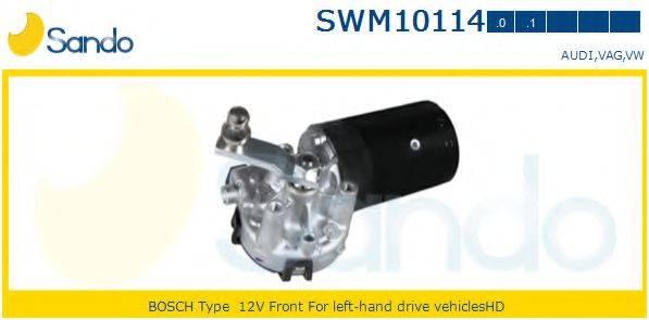 SANDO SWM101140 Двигатель стеклоочистителя