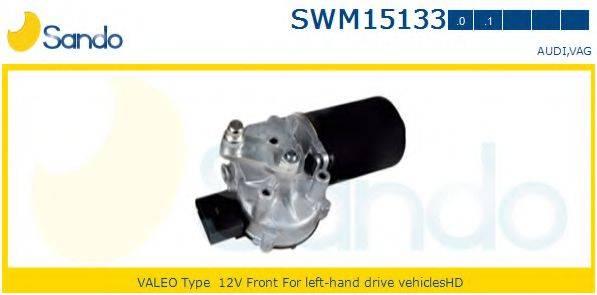 SANDO SWM151330 Двигатель стеклоочистителя