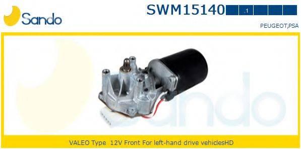 SANDO SWM151401 Двигатель стеклоочистителя