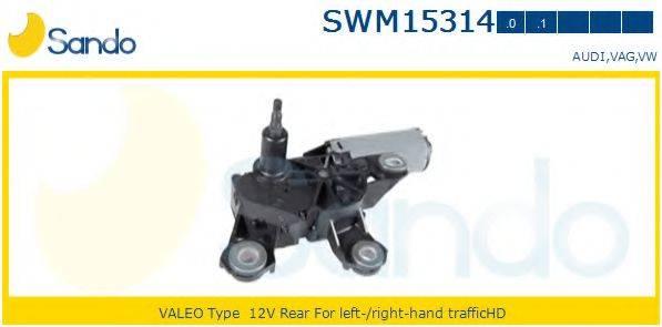SANDO SWM153140 Двигатель стеклоочистителя