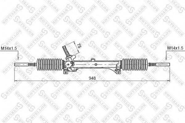 STELLOX 0035005SX Рулевой механизм