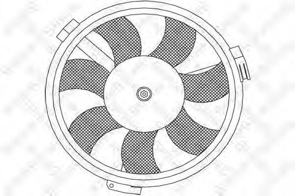 STELLOX 2999334SX Вентилятор, охлаждение двигателя