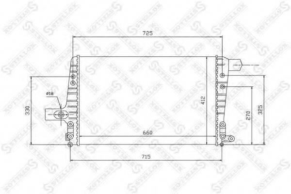STELLOX 1040104SX Интеркулер
