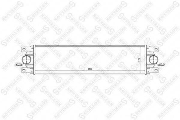STELLOX 1040140SX Интеркулер