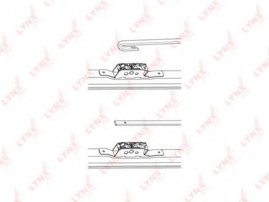 LYNXAUTO LW480 Щетка стеклоочистителя