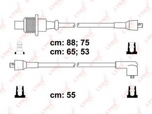 LYNXAUTO SPC6117 Комплект проводов зажигания