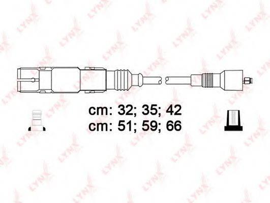 LYNXAUTO SPC8012 Комплект проводов зажигания