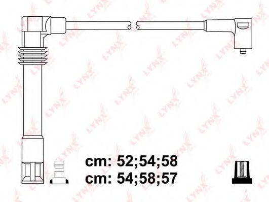 LYNXAUTO SPC8035 Комплект проводов зажигания