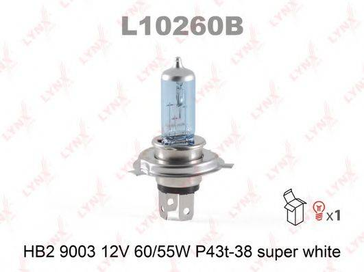 LYNXAUTO L10260B Лампа накаливания, фара дальнего света; Лампа накаливания, основная фара