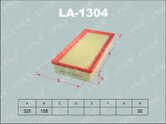 LYNXAUTO LA1304 Воздушный фильтр
