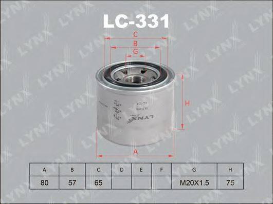 LYNXAUTO LC331 Масляный фильтр