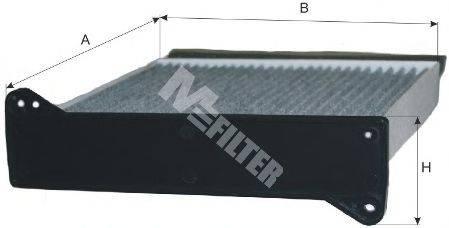 MFILTER K9028C Фильтр, воздух во внутренном пространстве