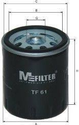 MFILTER TF61 Масляный фильтр