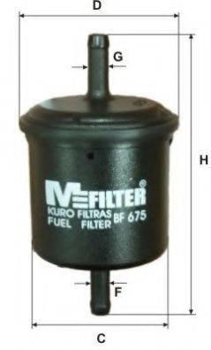 MFILTER BF675 Топливный фильтр