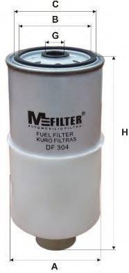 MFILTER DF304 Топливный фильтр