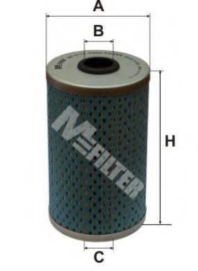 MFILTER DE3114 Топливный фильтр