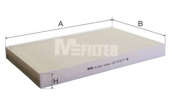 MFILTER K936 Фильтр, воздух во внутренном пространстве