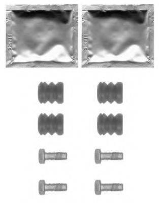 HELLA PAGID 8DZ355201581 комплект принадлежностей, тормозной суппорт